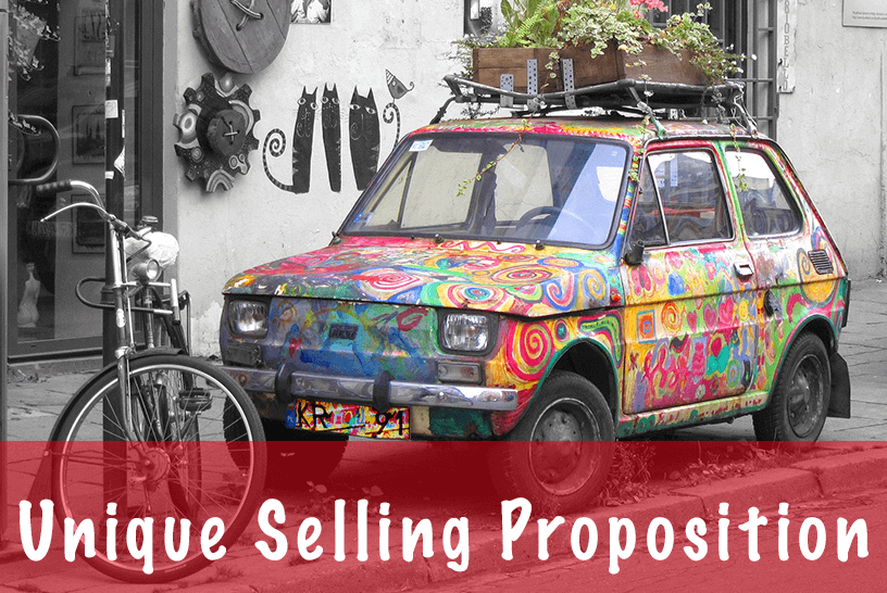 USP(Unique Selling Proposition)